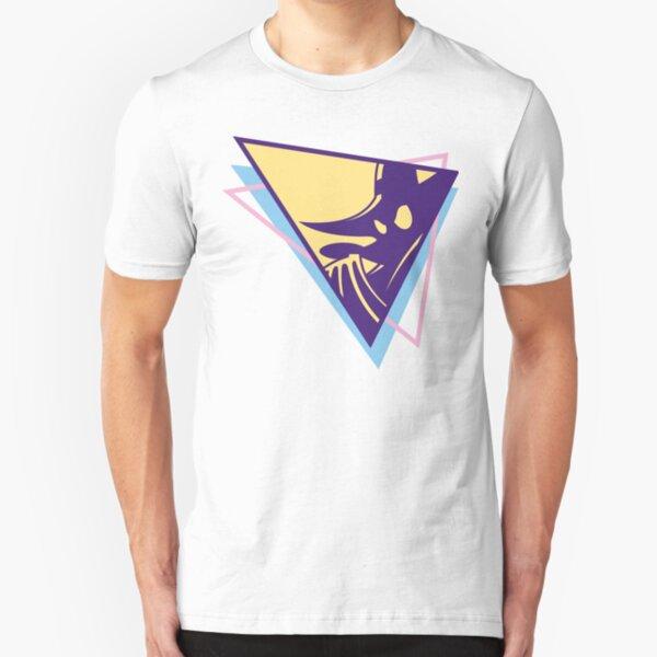 Flashback Darkwing Duck 90s Retro Slim Fit T-Shirt