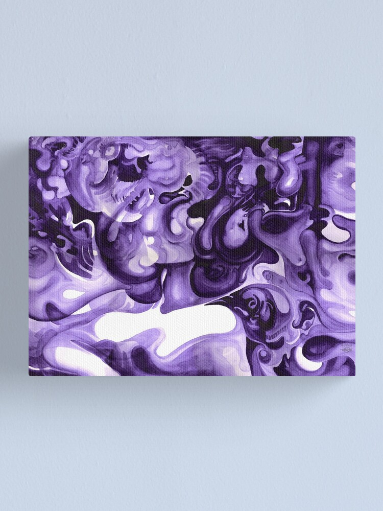 Alternate view of Asleep Canvas Print