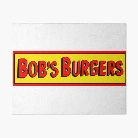 Bobs Burgers Logo Art Board Print