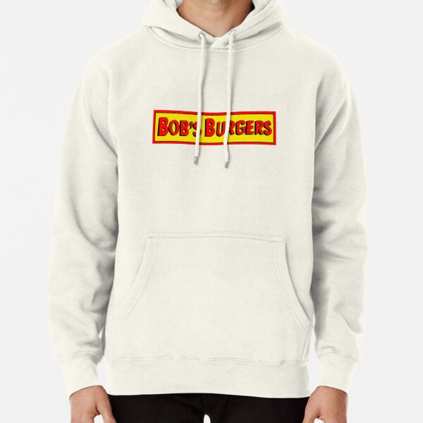 Bobs Burgers Logo Pullover Hoodie