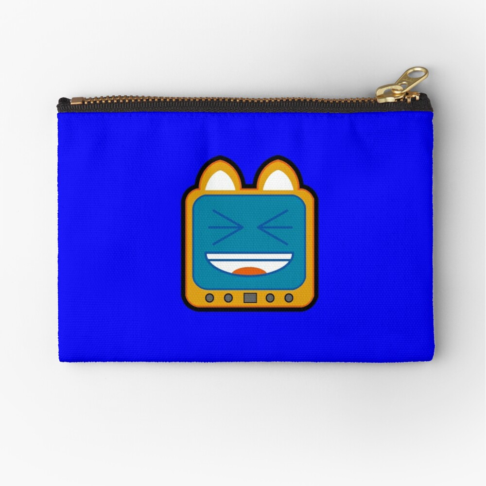Television Kitty LOL 3 Zipper Pouch
