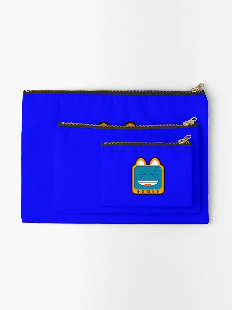 Alternate view of Television Kitty LOL 3 Zipper Pouch