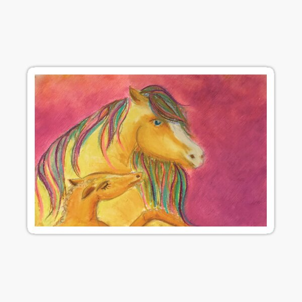 Motherhood horse Sticker