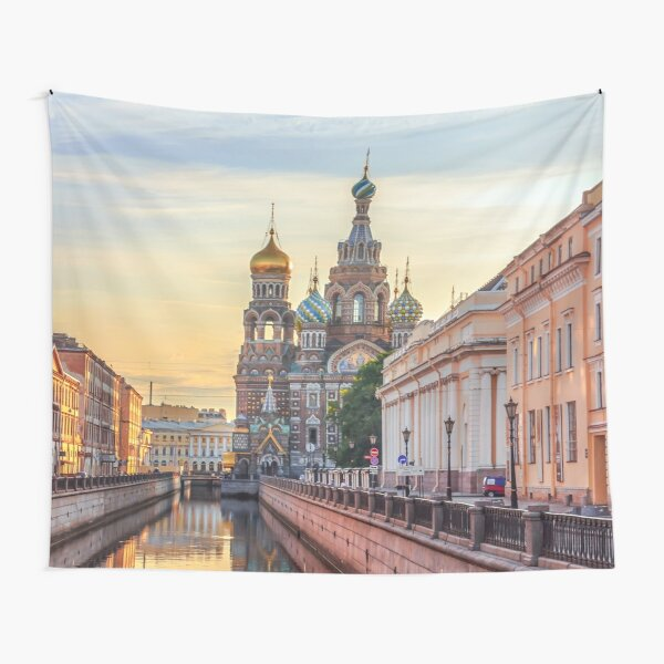 Church of the Savior on Blood, Saint Petersburg, Russia Tapestry