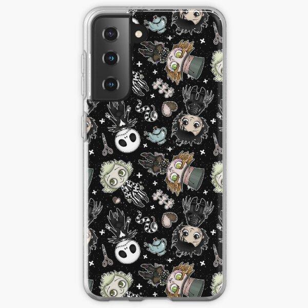 Burton Boys Collection in Black Samsung Galaxy Soft Case