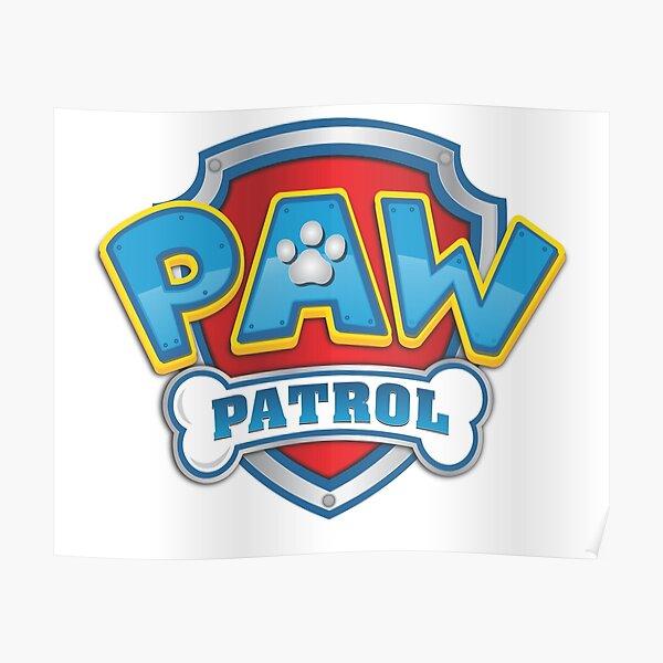 """paw patrol logo"" Poster by lorbire | Redbubble"