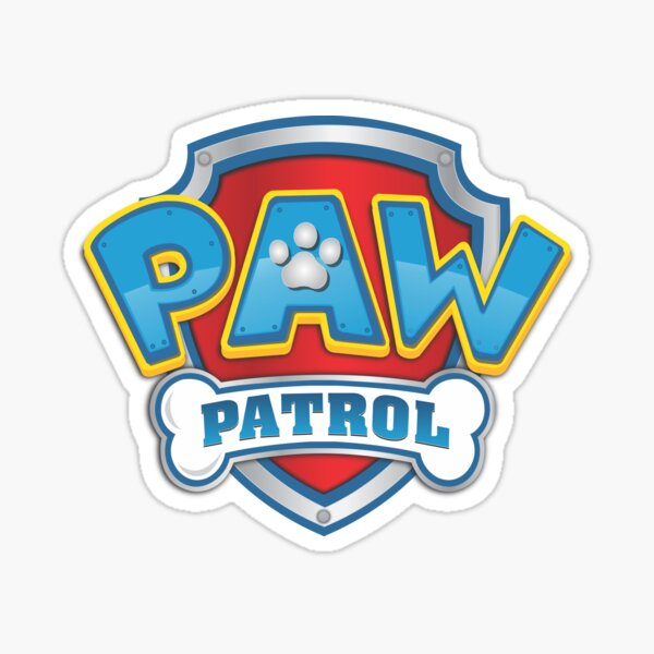 10 PAW PATROL STICKERS Rescue Dogs Ryder Chase Rubble Rocky Marshall Zuma Skye