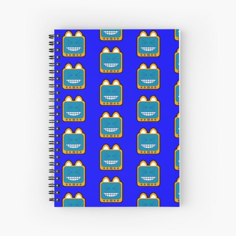 Television Kitty LOL 2 Spiral Notebook