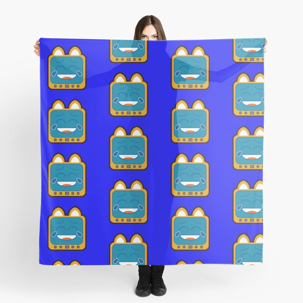 Television Kitty Laughing Scarf