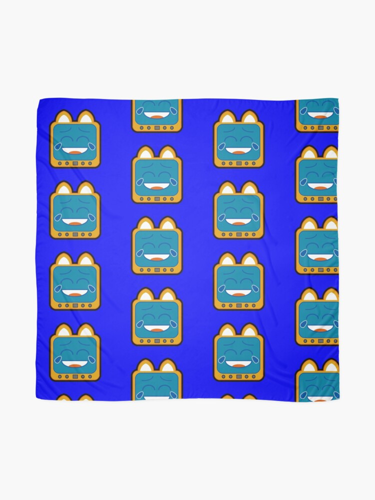Alternate view of Television Kitty Laughing Scarf