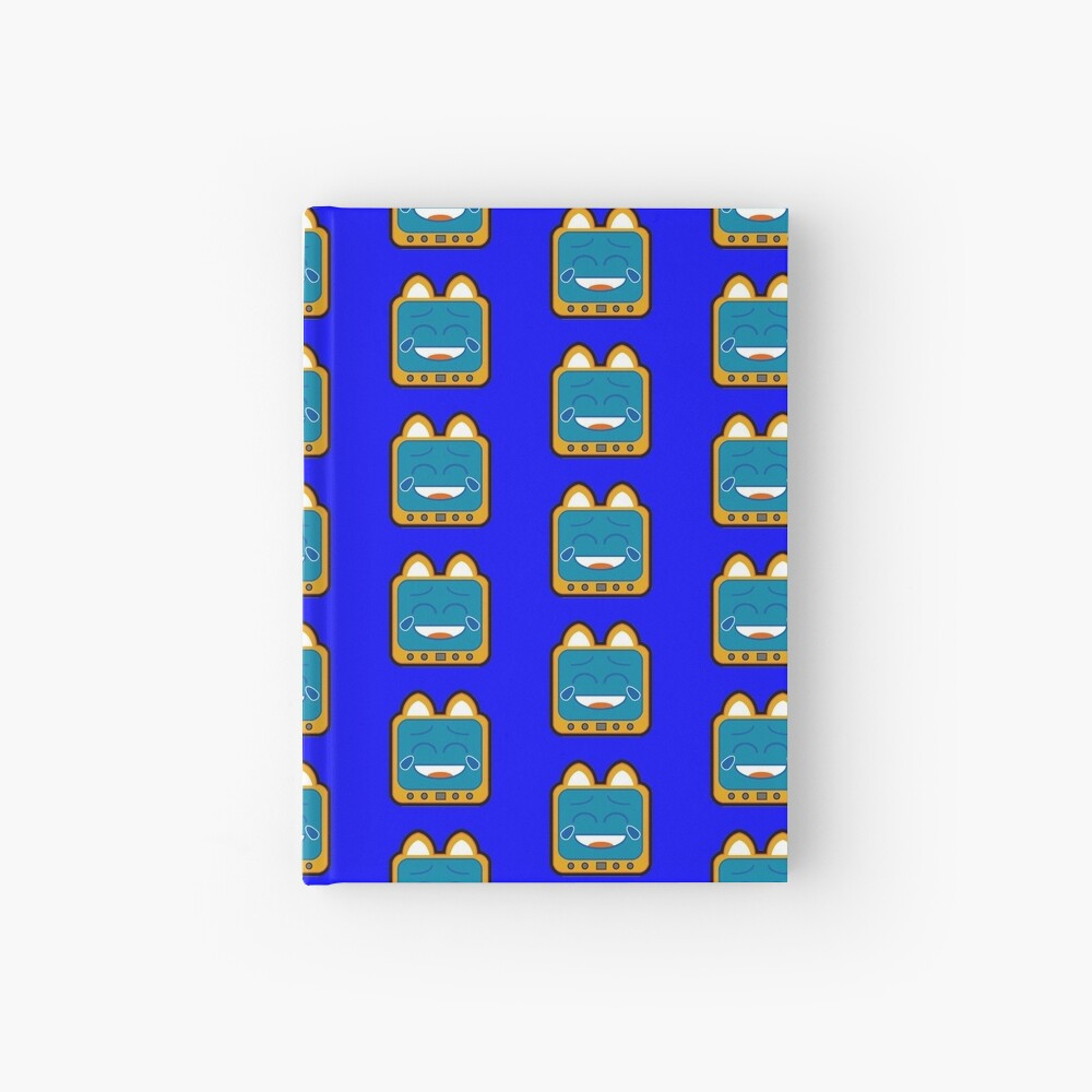 Television Kitty Laughing Hardcover Journal