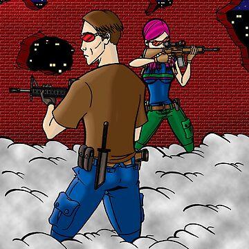 Zombie Hunters by ozzydanger