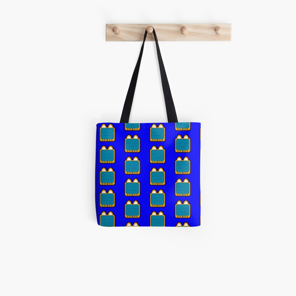 Television Kitty Lame Face Tote Bag