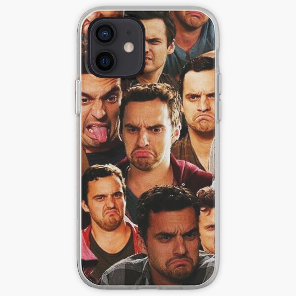 New Girl - Nick Miller Collage iPhone Soft Case