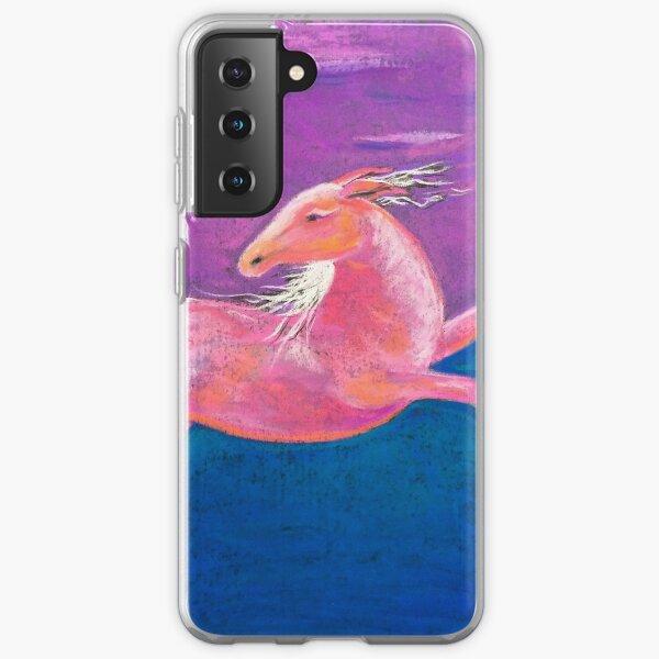 Bolting Horse Samsung Galaxy Soft Case