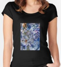 Morphic fields of the mysterious mind Women's Fitted Scoop T-Shirt