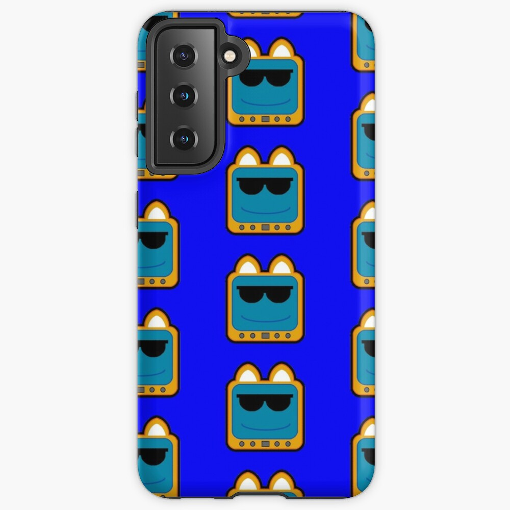 Television Kitty Cool Glasses 1 Case & Skin for Samsung Galaxy