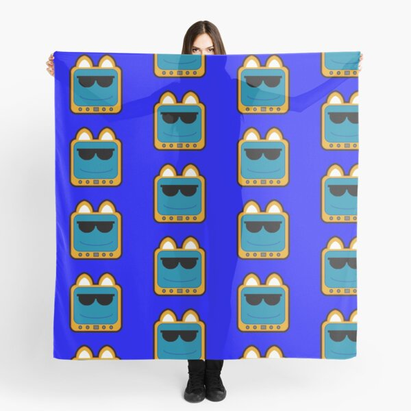 Television Kitty Cool Glasses 1 Scarf