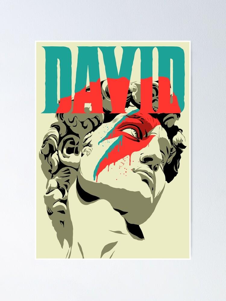 Alternate view of David Poster