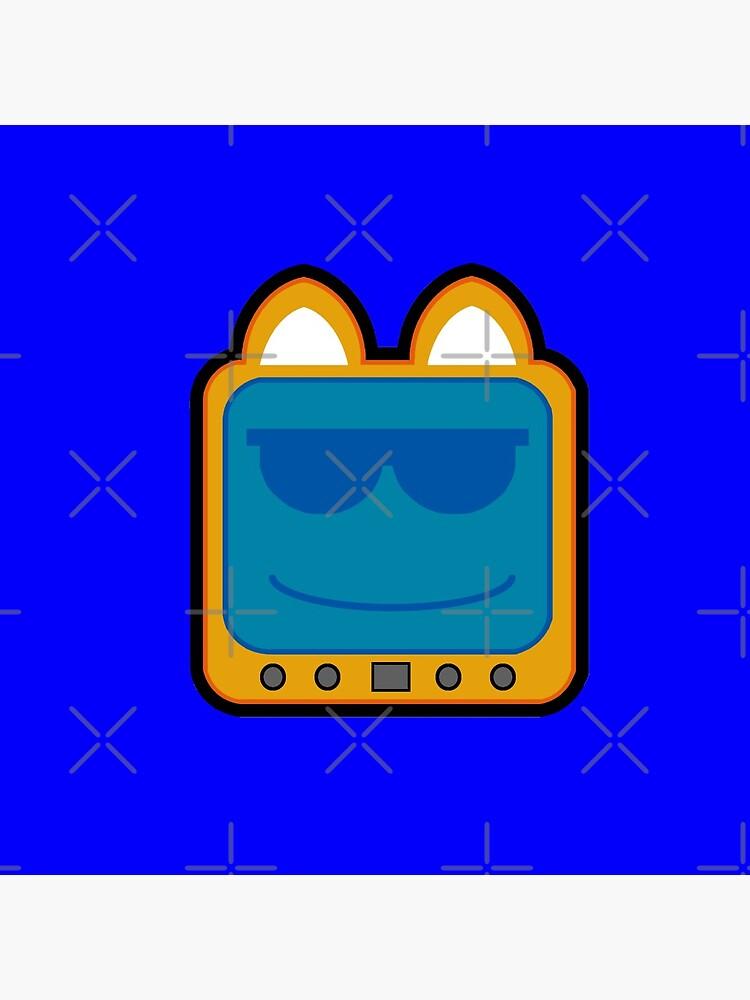 Television Kitty Cool Glasses 2 by eduardorandom