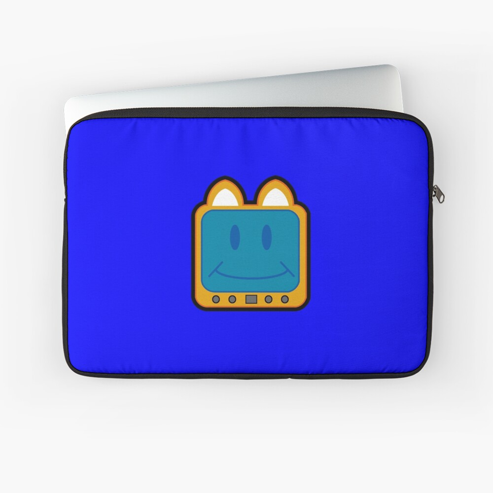 Television Kitty Smiling Laptop Sleeve