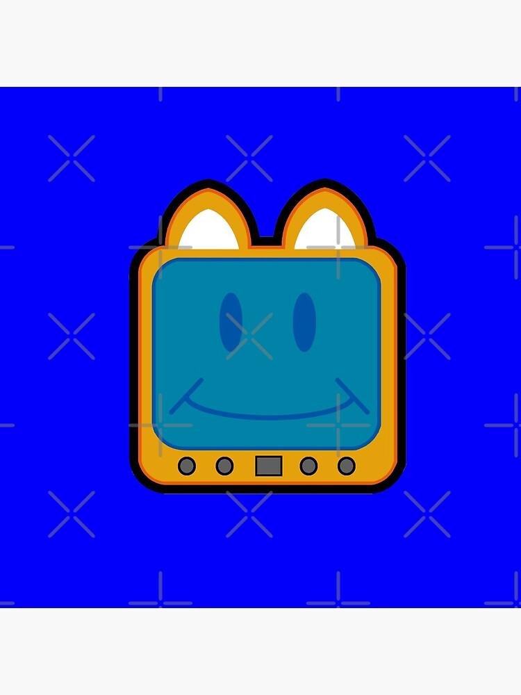 Television Kitty Smiling by eduardorandom