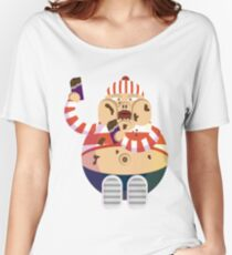 Chocoboy #digistickie Women's Relaxed Fit T-Shirt