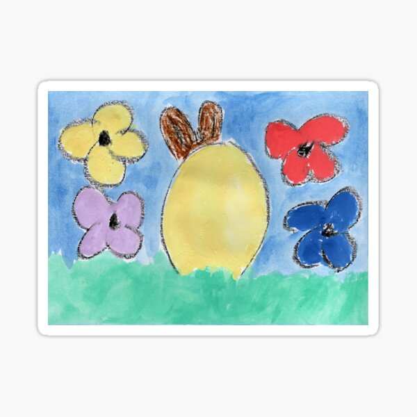 Frohe Ostern Sticker