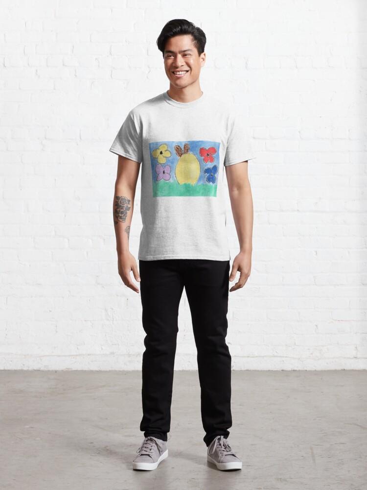 Alternative Ansicht von Frohe Ostern Classic T-Shirt