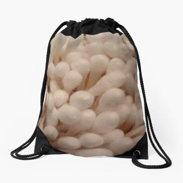 Cotton Sticks Drawstring Bag