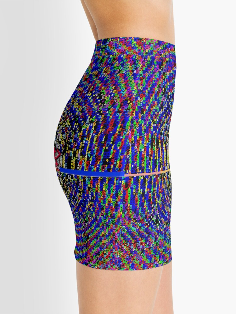 Alternate view of ASCii M☡NDELBR ^ T [i] by RootCat Mini Skirt