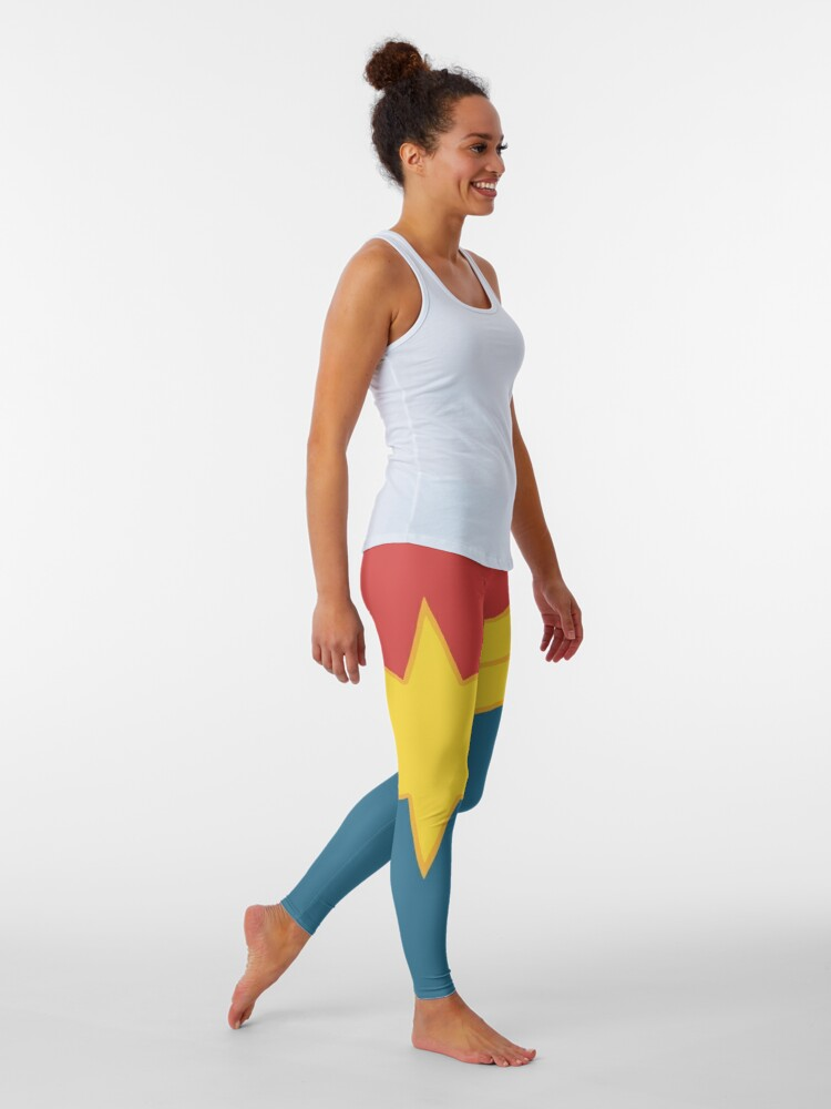 Alternate view of Higher, Further, Faster, More.  Leggings