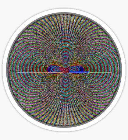 ASCii M♾NDELBR ^ T [iii] by RootCat Sticker