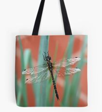 Dragonfly content on Shallots Tote Bag