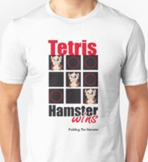 Pudding The Hamster - Tetris T-Shirt