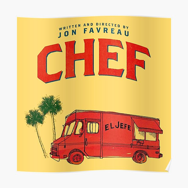 Chef Car Poster
