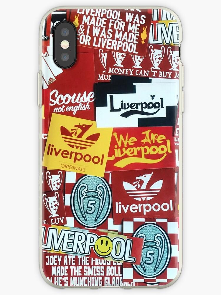 iphone xs case liverpool