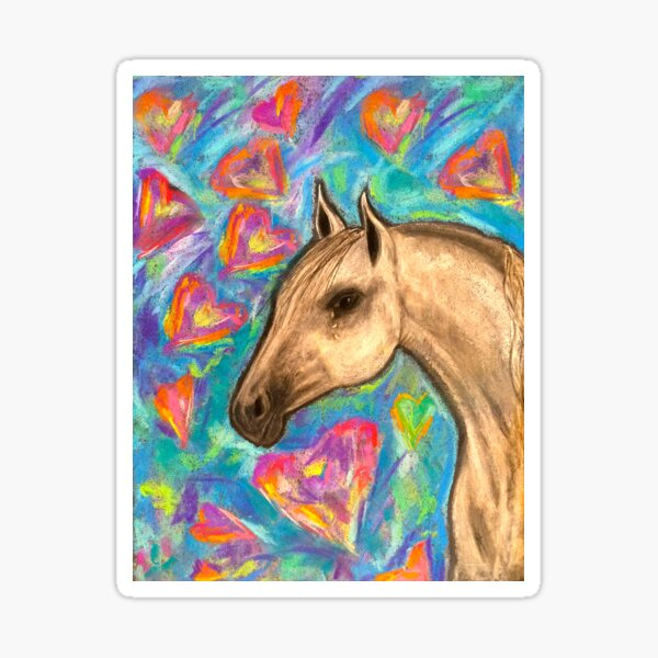 Love Horse Sticker