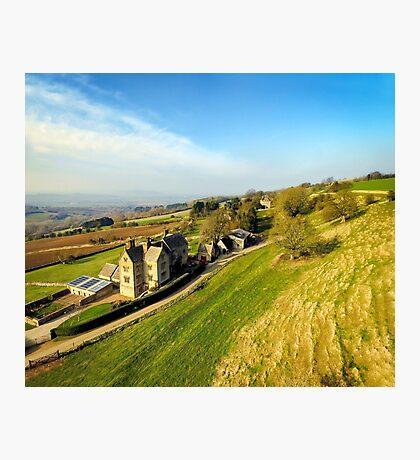 Cotswold Landscape Photographic Print