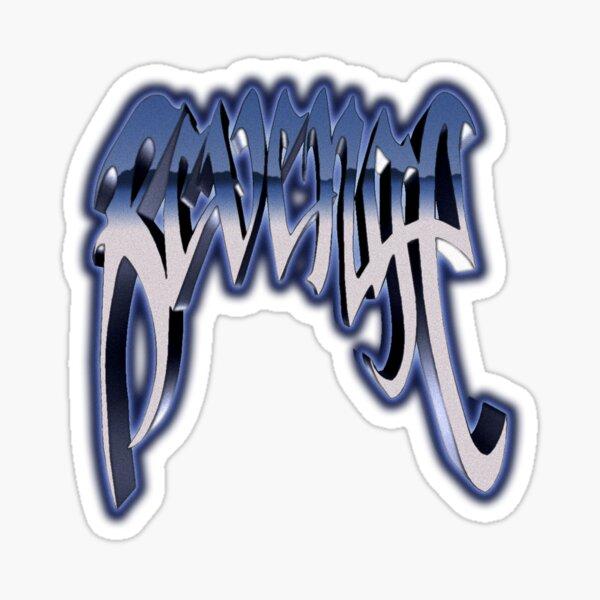Revenge Metal - Xxxtentacion  Sticker