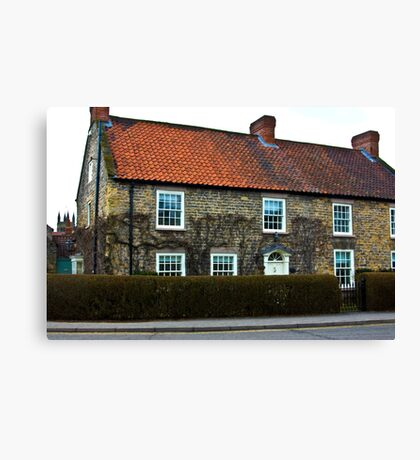 Helmsley Cottages #2 Canvas Print
