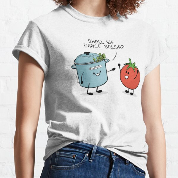 ¿Shall we dance Salsa? Classic T-Shirt