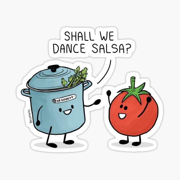 ¿Shall we dance Salsa? Sticker