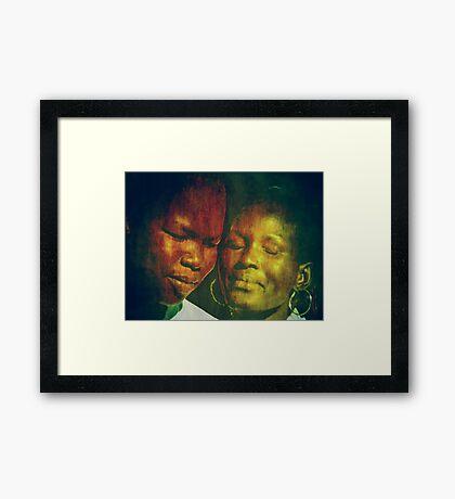 Feel... Framed Print