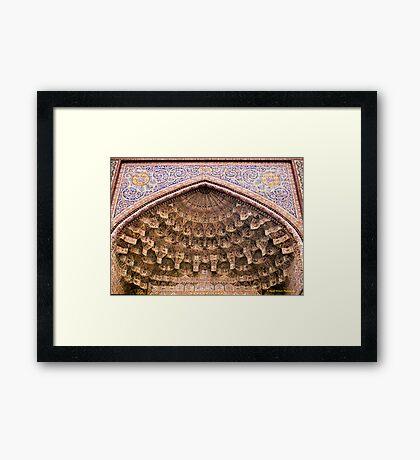 Vakil Mosque, Shiraz Framed Print