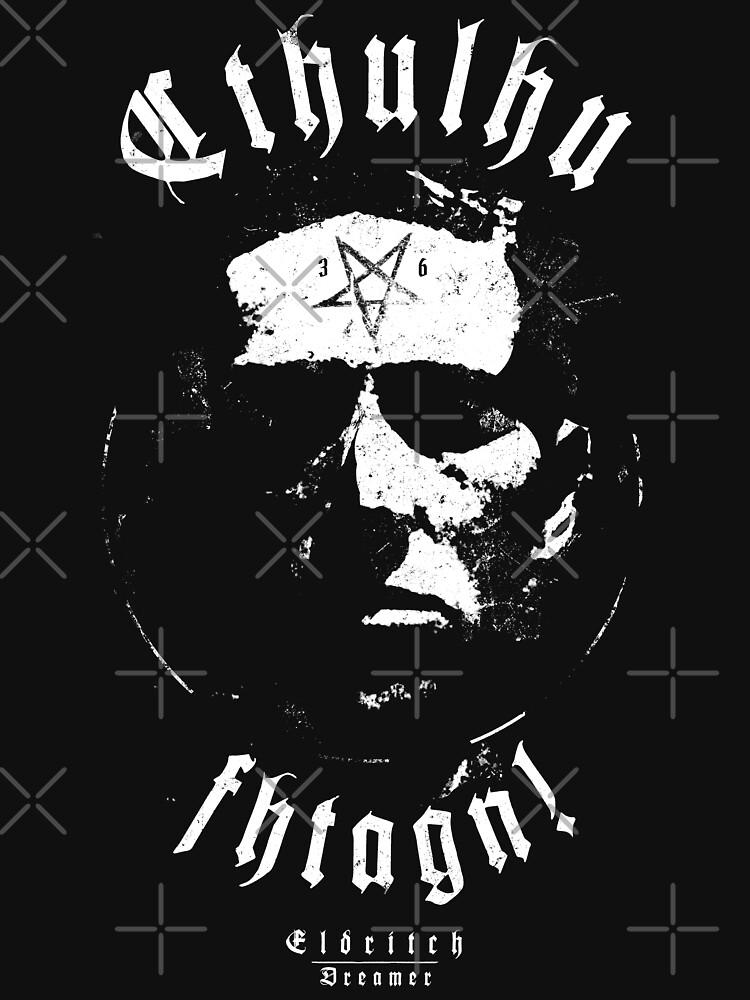 Cthulhu Fhtagn - Eldritch Dreamer - Lovecraftian mythos wear von eldritchdreamer