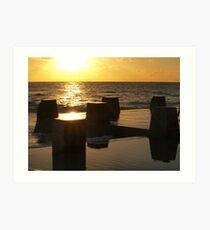 Early Rising - Coogee Pool Art Print