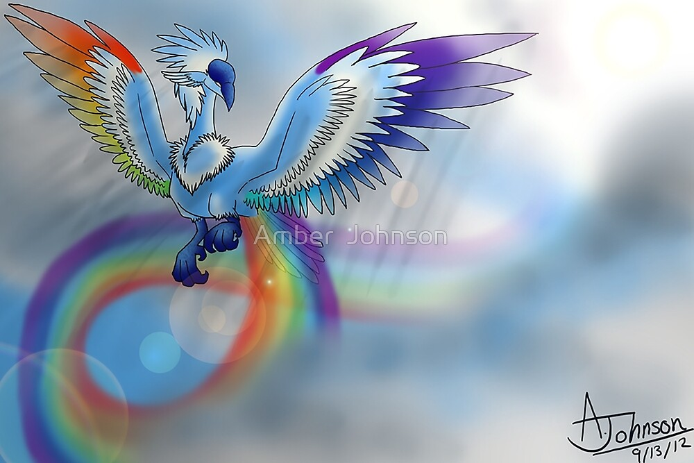 Rainbow Bird by Kohakuchan19