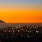 Falsebay sunset. by Rudi Venter