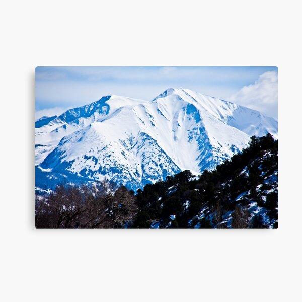Face of Mt. Sopris Canvas Print